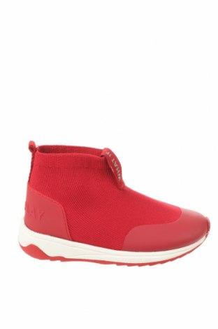 Детски обувки Zara, Размер 22, Цвят Червен, Текстил, Цена 44,25лв.