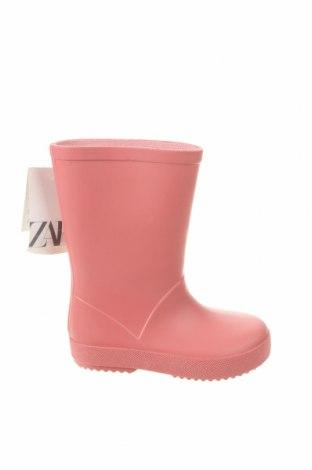 Dětské boty  Zara, Velikost 23, Barva Růžová, Polyurethane, Cena  463,00Kč