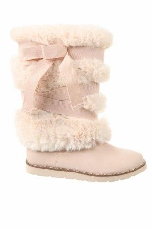 Детски обувки Zara, Размер 34, Цвят Розов, Еко кожа, текстил, Цена 59,25лв.