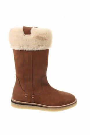 Детски обувки Zara, Размер 32, Цвят Кафяв, Естествена кожа, Цена 49,05лв.