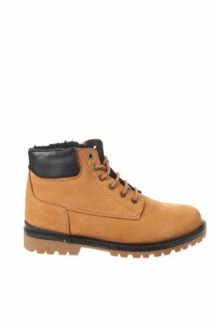 Детски обувки Zara, Размер 35, Цвят Кафяв, Естествена кожа, еко кожа, Цена 54,00лв.