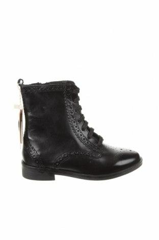 Детски обувки Zara, Размер 29, Цвят Черен, Естествена кожа, Цена 31,15лв.