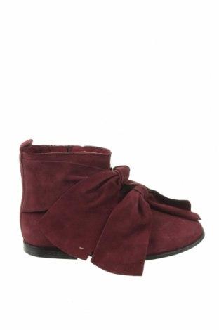 Dětské boty  Zara, Velikost 32, Barva Červená, Pravá kůže, Cena  401,00Kč