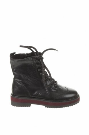 Παιδικά παπούτσια Zara, Μέγεθος 29, Χρώμα Μαύρο, Γνήσιο δέρμα, Τιμή 25,23€
