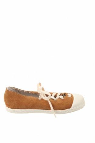 Dětské boty  Zara, Velikost 32, Barva Hnědá, Přírodní velur , Cena  350,00Kč