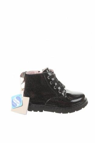 Детски обувки Zara, Размер 22, Цвят Черен, Еко кожа, Цена 48,75лв.