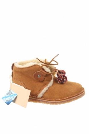 Dětské boty  Zara, Velikost 24, Barva Hnědá, Přírodní velur , Cena  607,00Kč