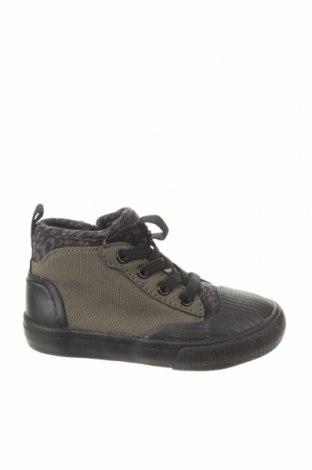 Детски обувки Zara, Размер 21, Цвят Черен, Текстил, Цена 11,96лв.