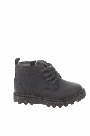 Детски обувки Zara, Размер 20, Цвят Черен, Еко кожа, Цена 13,57лв.
