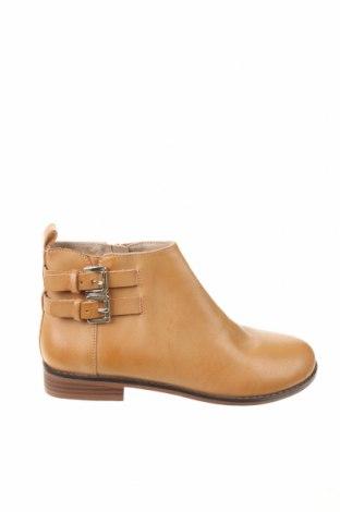 Dětské boty  Zara, Velikost 32, Barva Hnědá, Eko kůže, Cena  350,00Kč