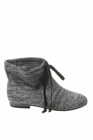 Детски обувки Zara, Размер 32, Цвят Сребрист, Текстил, Цена 13,57лв.