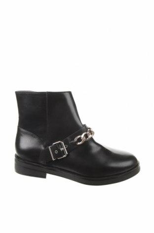 Παιδικά παπούτσια Zara, Μέγεθος 36, Χρώμα Μαύρο, Δερματίνη, Τιμή 19,56€