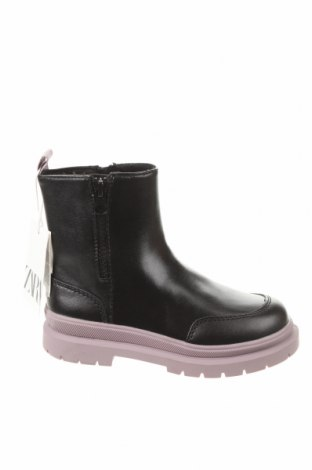 Детски обувки Zara, Размер 29, Цвят Черен, Еко кожа, Цена 59,25лв.