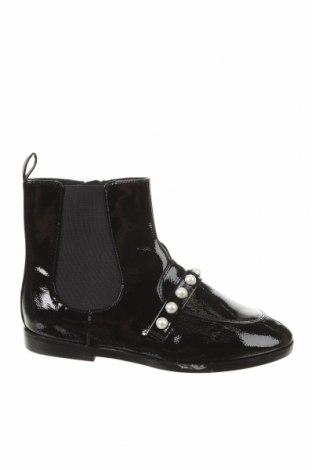 Детски обувки Zara, Размер 36, Цвят Черен, Еко кожа, Цена 31,90лв.