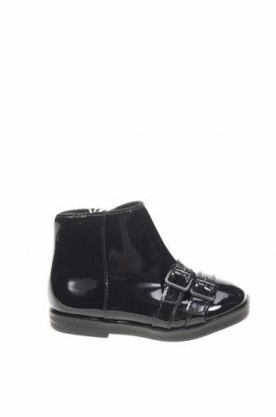 Dětské boty  Zara, Velikost 20, Barva Černá, Eko kůže, Cena  299,00Kč