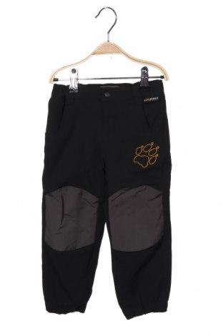 Dětské kalhoty  Jack Wolfskin, Velikost 18-24m/ 86-98 cm, Barva Černá, Polyamide, elastan, Cena  467,00Kč