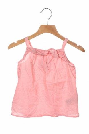 Μπλουζάκι αμάνικο παιδικό H&M, Μέγεθος 12-18m/ 80-86 εκ., Χρώμα Ρόζ , Βαμβάκι, Τιμή 8,81€
