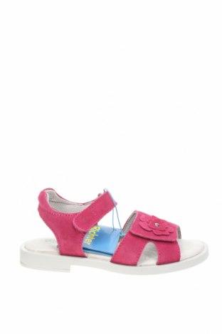 Детски сандали Richter, Размер 30, Цвят Розов, Естествен велур, Цена 41,40лв.
