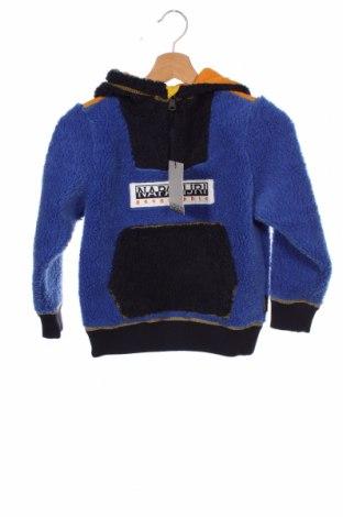 Dětská mikina  Napapijri, Velikost 7-8y/ 128-134 cm, Barva Modrá, Polyester, Cena  1032,00Kč