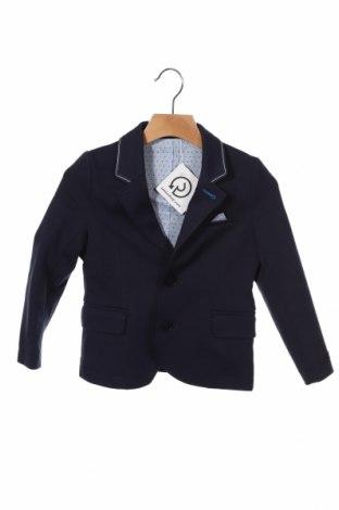 Παιδικό σακάκι Hugo Boss, Μέγεθος 18-24m/ 86-98 εκ., Χρώμα Μπλέ, 76% βαμβάκι, 21% πολυαμίδη, 3% ελαστάνη, Τιμή 74,23€