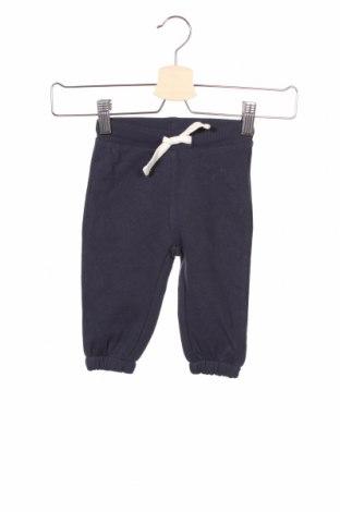 Детско спортно долнище ZY kids, Размер 6-9m/ 68-74 см, Цвят Син, 78% памук, 22% полиестер, Цена 19,50лв.