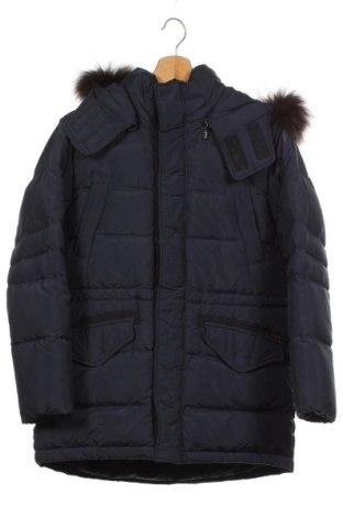Dětská bunda , Velikost 15-18y/ 170-176 cm, Barva Modrá, Peří, textile , Cena  818,00Kč