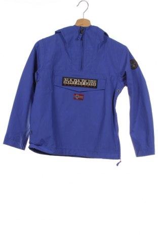 Dětská bunda  Napapijri, Velikost 9-10y/ 140-146 cm, Barva Modrá, Polyamide, Cena  2435,00Kč
