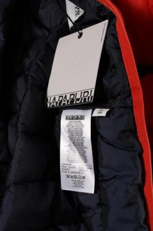 Dětská bunda  Napapijri, Velikost 7-8y/ 128-134 cm, Barva Oranžová, Polyamide, Cena  2924,00Kč
