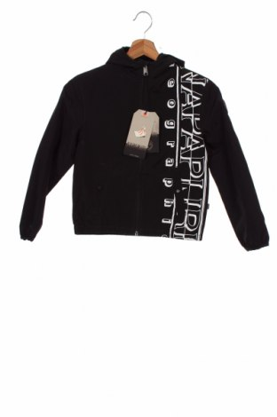 Детско яке Napapijri, Размер 7-8y/ 128-134 см, Цвят Черен, Полиамид, Цена 149,25лв.