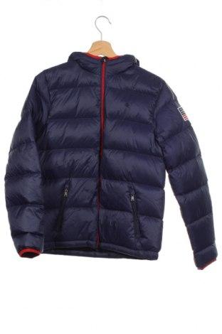 Dětská bunda  Polo By Ralph Lauren, Velikost 15-18y/ 170-176 cm, Barva Modrá, Polyamide, peří, Cena  3250,00Kč