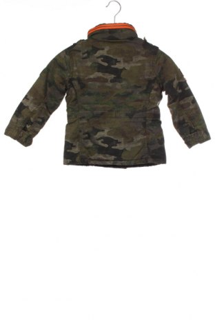 Dětská bunda  Superdry, Velikost 5-6y/ 116-122 cm, Barva Zelená, Bavlna, Cena  959,00Kč