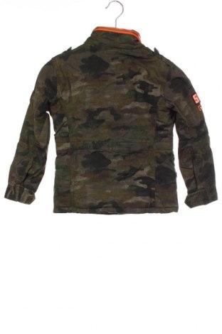 Dětská bunda  Superdry, Velikost 7-8y/ 128-134 cm, Barva Zelená, Bavlna, Cena  959,00Kč