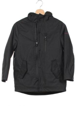 Детско яке Zara, Размер 8-9y/ 134-140 см, Цвят Черен, Полиестер, Цена 44,25лв.