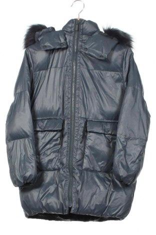 Παιδικό μπουφάν Zara, Μέγεθος 11-12y/ 152-158 εκ., Χρώμα Γκρί, Πολυεστέρας, φτερά και πούπουλα, Τιμή 27,83€