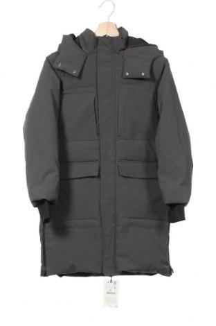 Детско яке Zara, Размер 9-10y/ 140-146 см, Цвят Зелен, 86% полиамид, 14% еластан, Цена 59,25лв.