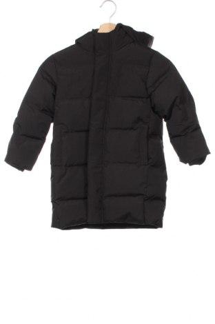 Детско яке Zara, Размер 5-6y/ 116-122 см, Цвят Черен, Полиестер, пух и пера, Цена 51,75лв.