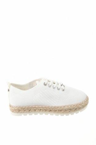 Εσπάδριλλες Tom Tailor, Μέγεθος 37, Χρώμα Λευκό, Κλωστοϋφαντουργικά προϊόντα, Τιμή 26,68€