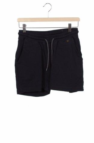 Pantaloni scurți pentru gravide LOVE2WAIT, Mărime XS, Culoare Albastru, 95% bumbac, 5% elastan, Preț 116,45 Lei