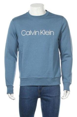 Ανδρική μπλούζα Calvin Klein, Μέγεθος S, Χρώμα Μπλέ, 100% βαμβάκι, Τιμή 71,65€