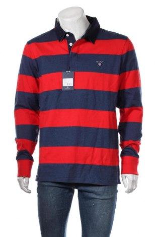 Ανδρική μπλούζα Gant, Μέγεθος XL, Χρώμα Μπλέ, Βαμβάκι, Τιμή 30,16€