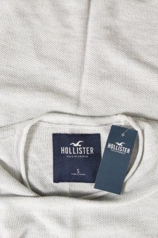 Ανδρική μπλούζα Hollister, Μέγεθος S, Χρώμα Γκρί, 53% βαμβάκι, 40% βισκόζη, 7% πολυαμίδη, Τιμή 7,24€