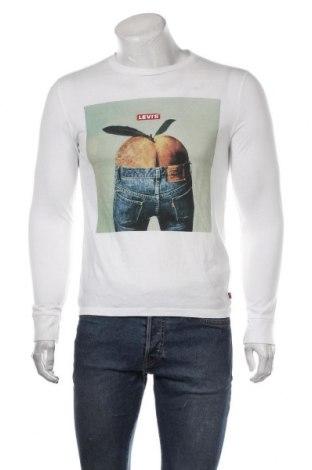 Ανδρική μπλούζα Levi's, Μέγεθος S, Χρώμα Λευκό, Βαμβάκι, Τιμή 30,54€