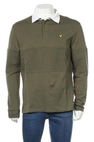 Ανδρική μπλούζα Lyle & Scott, Μέγεθος M, Χρώμα Πράσινο, 100% βαμβάκι, Τιμή 32,12€