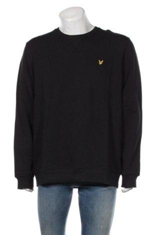Ανδρική μπλούζα Lyle & Scott, Μέγεθος XXL, Χρώμα Μαύρο, Βαμβάκι, Τιμή 35,72€