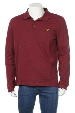 Ανδρική μπλούζα Lyle & Scott, Μέγεθος XL, Χρώμα Κόκκινο, 100% βαμβάκι, Τιμή 28,50€