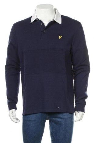 Ανδρική μπλούζα Lyle & Scott, Μέγεθος M, Χρώμα Μπλέ, 100% βαμβάκι, Τιμή 32,12€