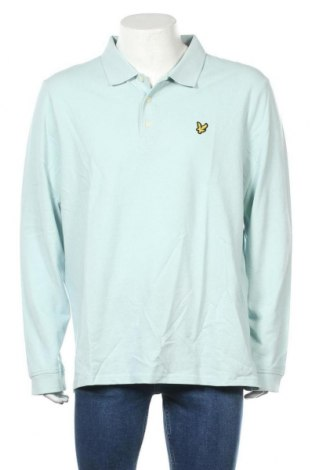 Ανδρική μπλούζα Lyle & Scott, Μέγεθος XXL, Χρώμα Μπλέ, 100% βαμβάκι, Τιμή 28,50€
