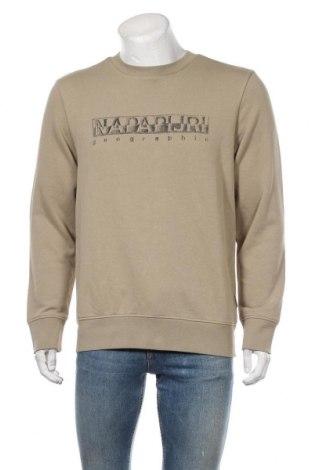 Мъжка блуза Napapijri, Размер L, Цвят Сив, 90% памук, 10% полиестер, Цена 111,75лв.