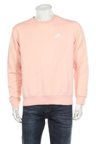Bluză de bărbați Nike, Mărime M, Culoare Roz, 80% bumbac, 20% poliester, Preț 244,25 Lei