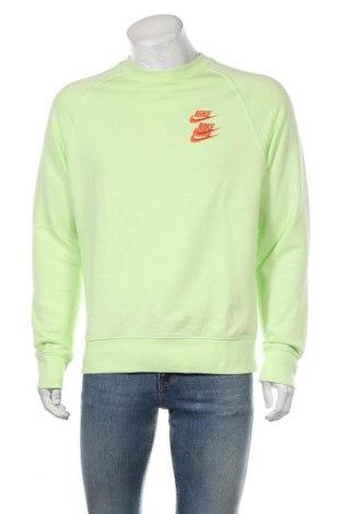 Ανδρική μπλούζα Nike, Μέγεθος M, Χρώμα Πράσινο, 80% βαμβάκι, 20% πολυεστέρας, Τιμή 45,88€